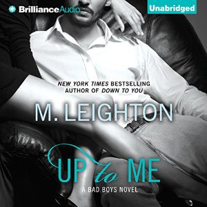 Up to Me audiobook by M. Leighton