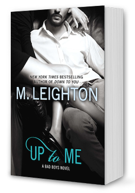 Up to Me Book Cover